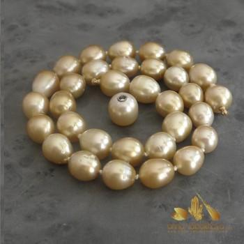 GOLD south seas pearl...