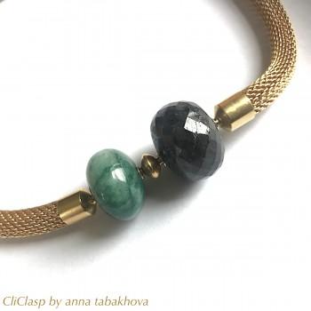 Sapphire emerald double...